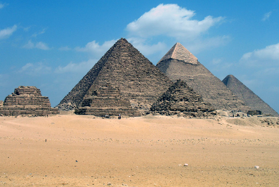 A Workshop On The Pyramids Of Ancient Egypt
