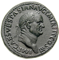 The next most valuable coin the dupondius was worth half a
