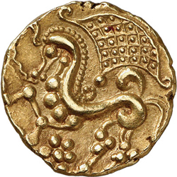 Other side of the parisii coin a horse
