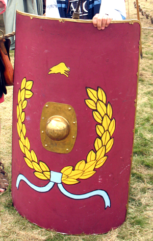 Real Roman Shield