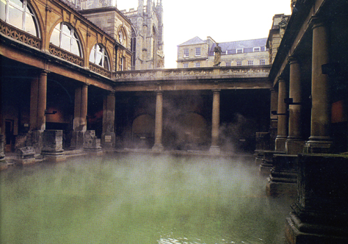 The Roman Baths at Bath and Caerleon