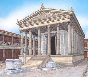 The Temple of Saturn (The Treasury of Rome)